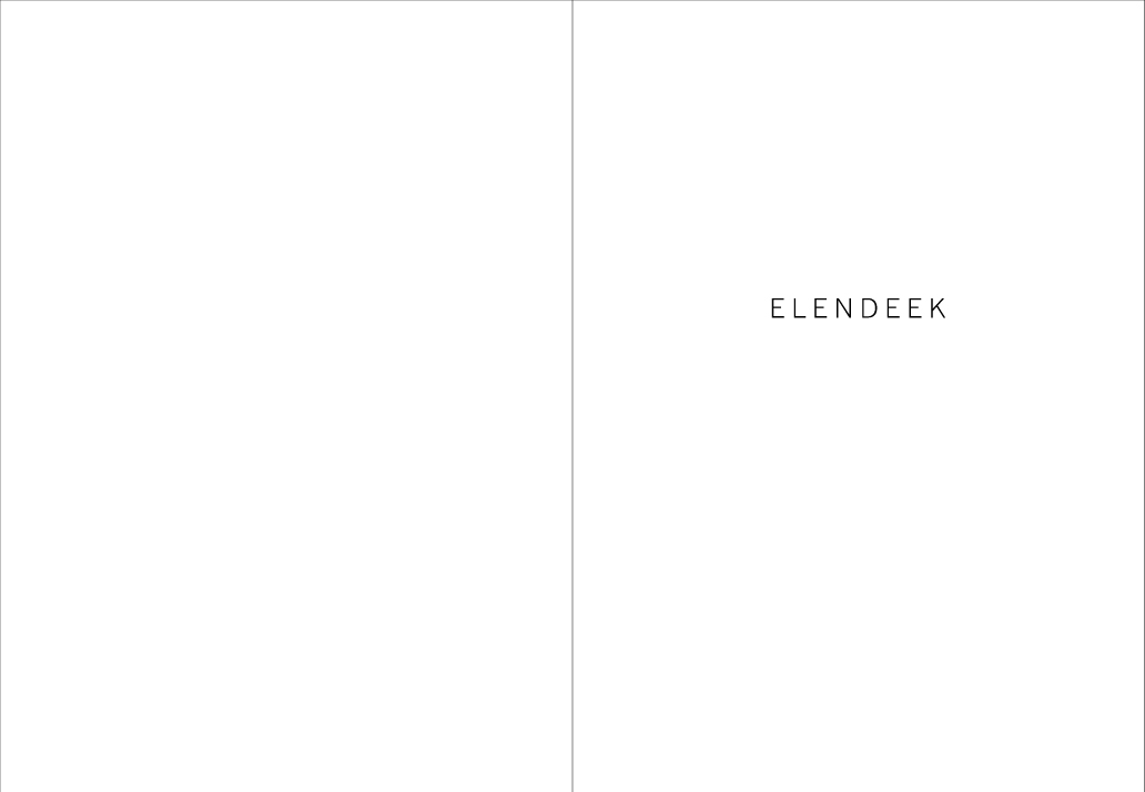 ELENDEEK 3ST COLLECTION 2017 Spring and Summer